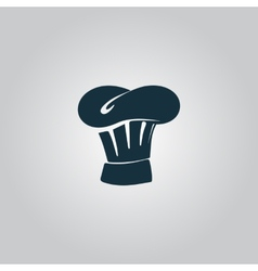 Chef Hat icon sign and button vector image vector image