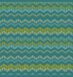 Abstract geometric seamless pattern with zigzag vector