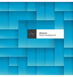 Blue abstract squares background with space for vector image