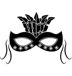 Carnival accessory icon image vector