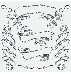 Ribbons Set vector