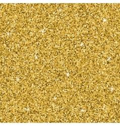 Seamless yellow gold glitter texture shimmer vector
