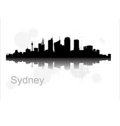 Sydney city vector
