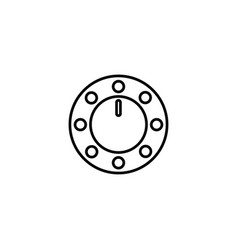 volume regulator icon vector image