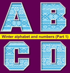 Winter abc 01 vector