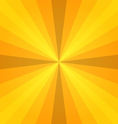 Yellow sunray vector