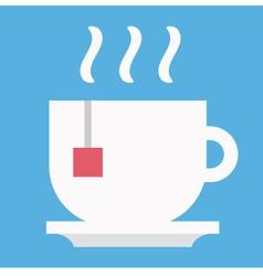 Cup of Tea Icon vector image vector image