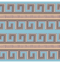 Ethnic ornamental textile seamless pattern vector image