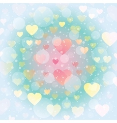 Beautiful background for Valentine s day vector