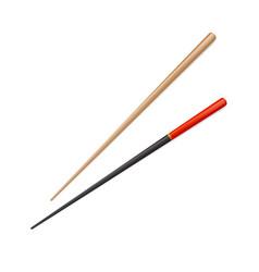 Chopstick chinese sushi isolated japanese vector