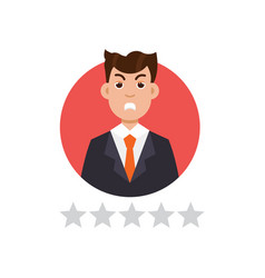 Feedback user customer reviews concept vector
