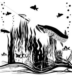 River predator vector