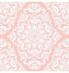 Seamless damask background vector