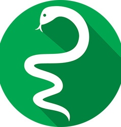 Snake Icon vector image vector image