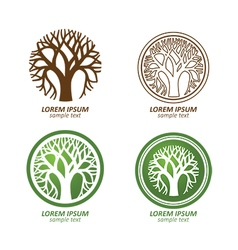 tree logo2 vector image