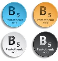 Vitamin B5 vector