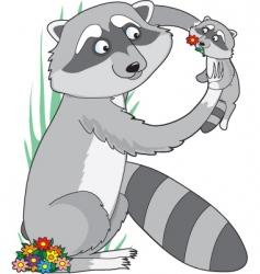 animal alphabet r theme vector image vector image