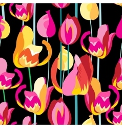Seamless pattern with beautiful multi-colored vector image