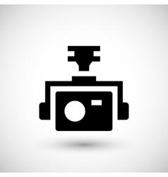 Action camera icon vector image