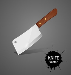 Big knife vector image