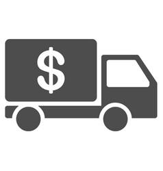 cash delivery icon vector image
