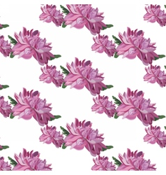 Chrysanthemum Flowers pattern vector