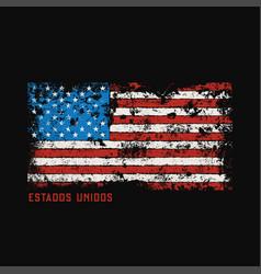 Estados unidos t-shirt and apparel design with vector