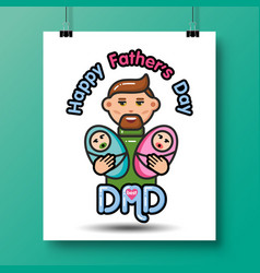 Fathers day icons 22 vector