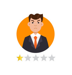 feedback user customer reviews concept vector image