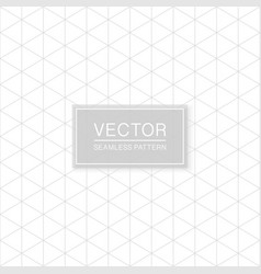 simple seamless geometric triangle pattern vector image