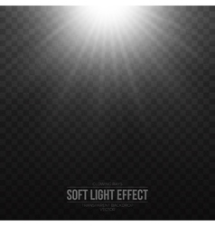 Soft Light Effect Background vector