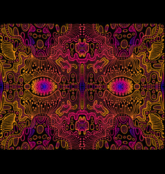 space psychedelic trippy abstract texture bright vector image