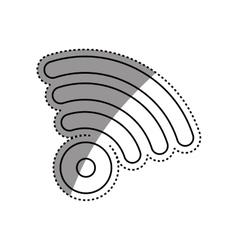Wifi zone symbol vector image