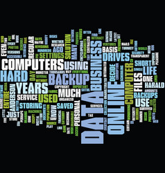 Your data is your life text background word cloud vector