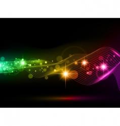bright multicolored background vector image