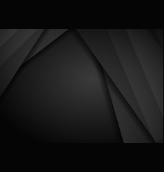 abstract metallic black frame layout modern tech vector image