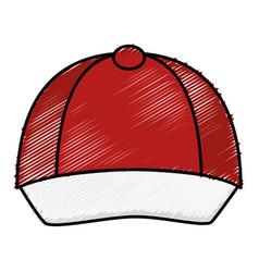 courier cap uniform icon vector image