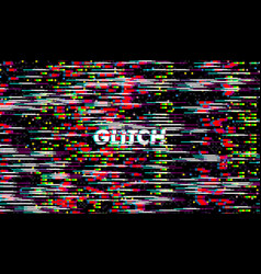 glitch texture pixel noise test tv screen digital vector image
