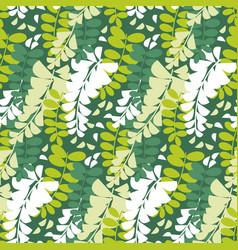 spring acacia blossom seamless pattern vector image