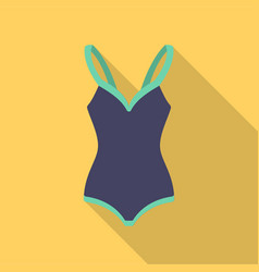 Swimsuit icon of for web and vector