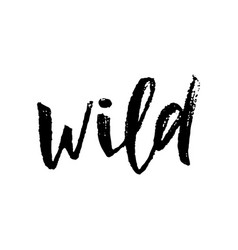Wild isolated word vector