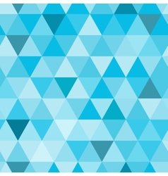 Seamless retro pattern of geometric shapes Blue vector image vector image