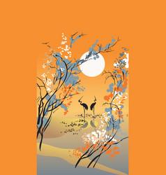 seasons autumn vector image vector image