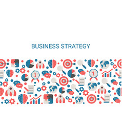 background with business icons vector image