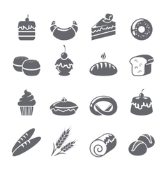 Baking Icons Black vector
