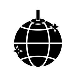 disco ball lights vector image