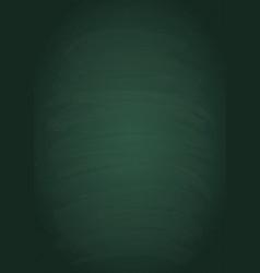 empty green vertical chalk board texture vector image