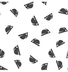 hard hat seamless pattern vector image
