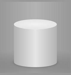 round podium or pedestal vector image