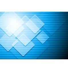 Vibrant blue background vector image